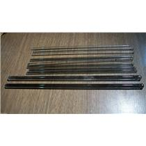 Glass Stirring Sticks Assorted Lot of 10