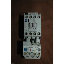 ALLEN BRADLEY STARTER 100-C09 10 120V COIL SER A 100C0910 w/193-EA1DB A 1-2.9A