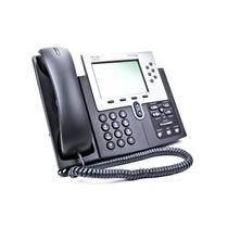 Cisco CP-7961G-GE Unified VoIP 6 Programmable Button (Line) PoE Gigabit IP Phone
