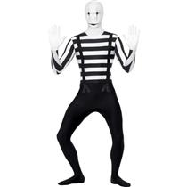 Men's Mime Second Skin Costume Size XL 46-48 chest