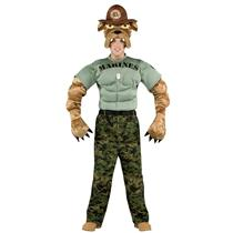 Military Mascot Marine Chesty The Bulldog Adult Costume