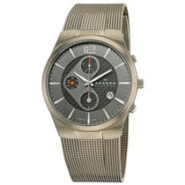 Skagen Men's 906XLTBB Titanium Chronograph Watch