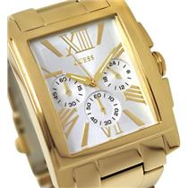 Guess U0009G2. Dress Gold-Tone Bracelet. Chronograph w/Military Time Register.