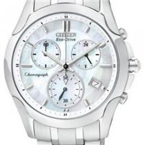 Citizen FB1158-55D. Chronograph.Eco-Drive.MOP Dial.Stainless Steel Case/Bracelet
