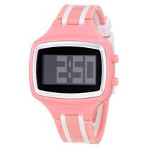 Activa AA401-002 by Invicta.50% Off.Digital.Sporty Retangle Black Dial.Polyurethane Pink Strap.White
