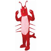 Forum Red Lobster Mascot Adult Costume