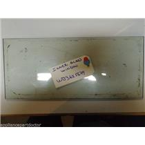 """GE STOVE WB36X5679 INNER GLASS WINDOW APPROX 7"""" X 16""""  USED"""