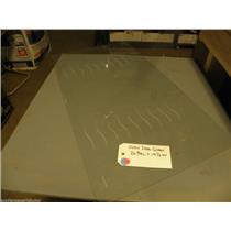 26 3/4L  X  14 1/2W  Oven Door Outer Glass ( some scratches)     USED PART