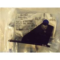 AMANA JENN AIR REFRIGERATOR 67002960 Hinge, Center (rt) (black)    NEW IN BOX