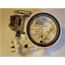Bosch  dishwasher  Pump motor assembly 491434 480317 266158 Heater, Sump