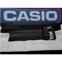 Casio Watch Band EMA-100 Edifice Black Resin Strap for  Mens Tide Graph