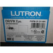 """""""NEW"""" Lutron Grafik Eye GRX3000/4000/QS PHPM-3f-DV-WH"""