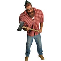 Big Bruizer Lumberin Jack Paul Bunyan Logger Adult Costume Size XL (44-46)