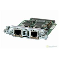 Cisco VWIC2-2MFT-T1/E1 2-Port T1/E1 Multiflex Trunk Voice WAN Interface Module