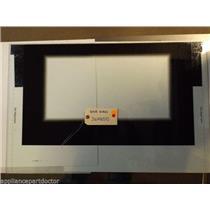 FRIGIDAIRE STOVE 316408503 Glass,door Front ,black  USED PART
