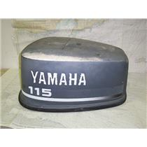 Boaters Resale Shop Of Tx 1409 2754.01 YAMAHA V4 115 HP OUTBOARD MOTOR COWLING