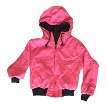Kids 10 Pacific Trail by Nordstrom Pink Black REVERSIBLE Winter Parka Zip Jacket