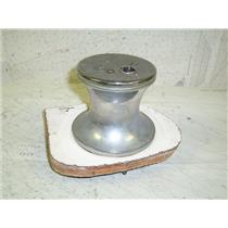 Boaters Resale Shop Of Tx 1304 0105.47 VINTAGE CHROME WINCH WITH SQUARE SOCKET