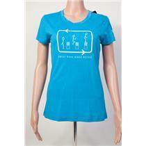 Inov-8 Sweat Puke Rinse Repeat T-Shirt Women's Blue