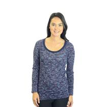 Size XS We The Free by Free People Purple Multi Color Crewneck Raglan Knit Top