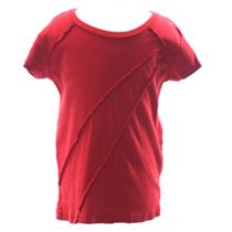 8 Authentic Juicy Couture Baby (Kids) Exposed Seam Red T-Shirt MINT CONDITION