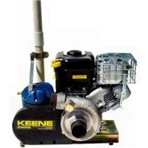 Keene Engineering P185C 6.5hp Briggs & Stratton Engine, P180 Pump & T80 Compressor - Dredges