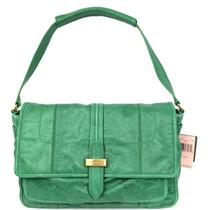 NWT Authentic Juicy Couture Blueprint Harriet Shoulder Bag Purse Green YHRU2821