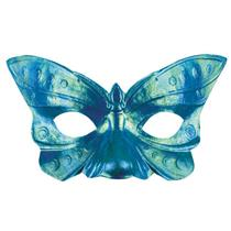 Blue Butterfly Iridescent Eye Mask