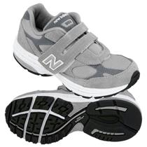 New Balance Girls Shoes 993 Size 2 Gray Pink NIB