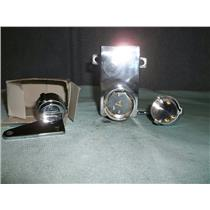 New Mistura Systems MLG-100 A Locking Mechanism, Chrome Plated Brass, 2 Keys