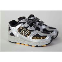 New Balance 630 Toddler Shoes 6 Black Yellow Silver NIB