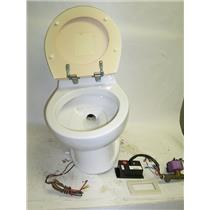 Boaters' Resale Shop Of Tx 1510 0421.01 TECMA ELECTRIC 12V MARINE TOILET SYSTEM