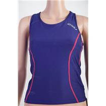 2XU Active Tri Singlet Purple Women's