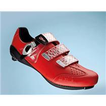 Fizik R3 UOMO Racing Red Shoe New 7.75 US Men's New!