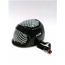 Lazer Krux Black/Checkered Bike Helmet Size XS New!