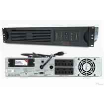APC SUA1000RM2U Smart-UPS 1000VA 120V 670W USB, 2U Rackmount Backup New Battery