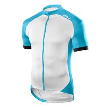 2XU Active Cycle Jersey Blue White Men's Medium