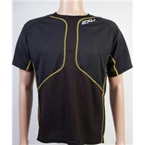 2XU Comp Run Short Sleeve Black Men's