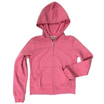 10 NWT Authentic Princess Juicy Couture Kids Faithful Pink Fleece Zip Up Hoodie