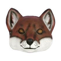 Deluxe Child Fox Plastic Animal Costume Face Mask