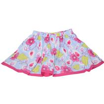 Authentic NWT Baby Lulu Girls Waterleaf Soft Corduroy Floral Skort Skirt w/Short