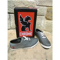 Chrome Truk Pro Grey Cycling Sneaker Men's 9.5 *DEFECT*