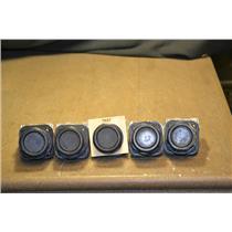 (Lot of 5) Allen-Bradley 800H-AR Ser. F BLACK Pushbuttons