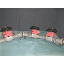 (LOT OF 3) GEORG FISCHER  GF  SYGEF TY 315 D40DN32 PN 10 DIAPHRAGM VALVE