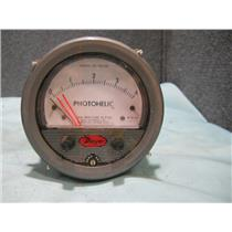 Dwyer PHOTOHELIC 3004C Gauge Inches Of Water 0-4 25PSIG 120VAC 50/60Hz 5Watts