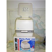 Boaters' Resale Shop of Tx 1604 2745.12 THETFORD MARINE PORTA POTTI 135 TOILET