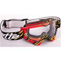 Arnette Mini Series MX Explosive Red/Yellow W/Clear