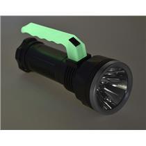 3W Handheld Lantern / Flashlight with Glow in Dark Handle, 80-100 Lumen-Camping