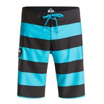 "Quiksilver Men's Everyday Brigg Stretch 21"" Boardshorts Black/Blue 32"