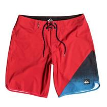 "Quiksilver AG47 New Wave 20"" Boardshorts Red 32"
